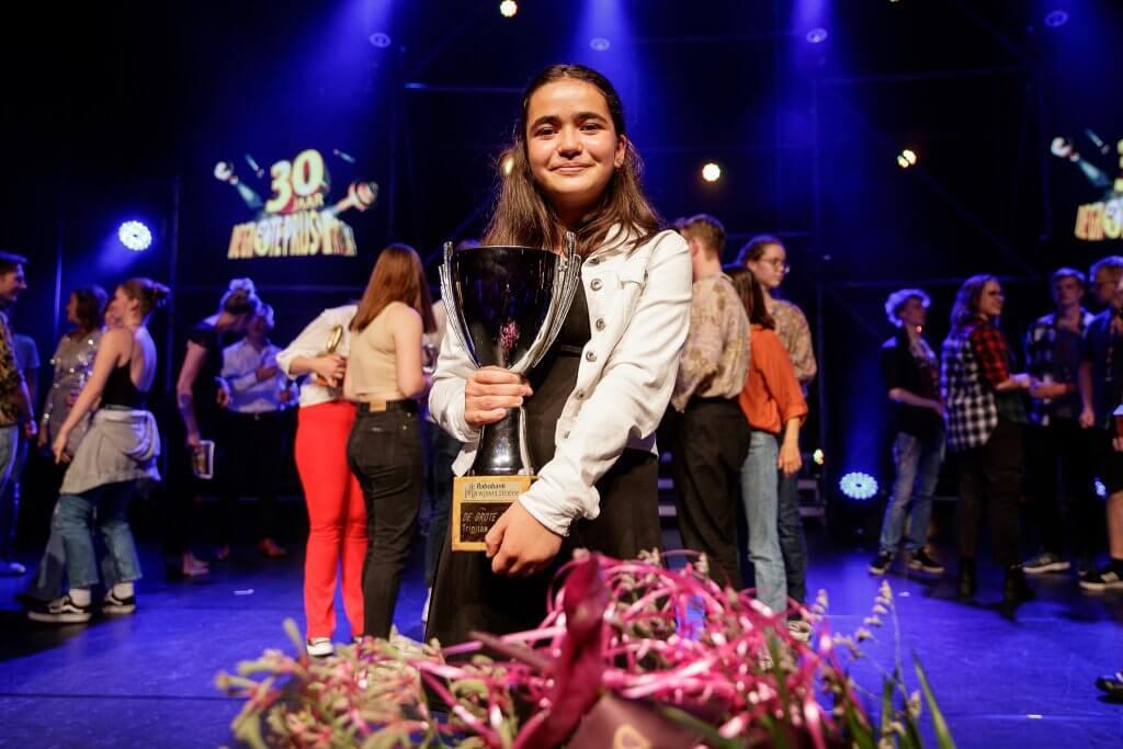 winnares van De Grote Prijs 2021: Keira Krijger met het nummer I Dreamed A Dream